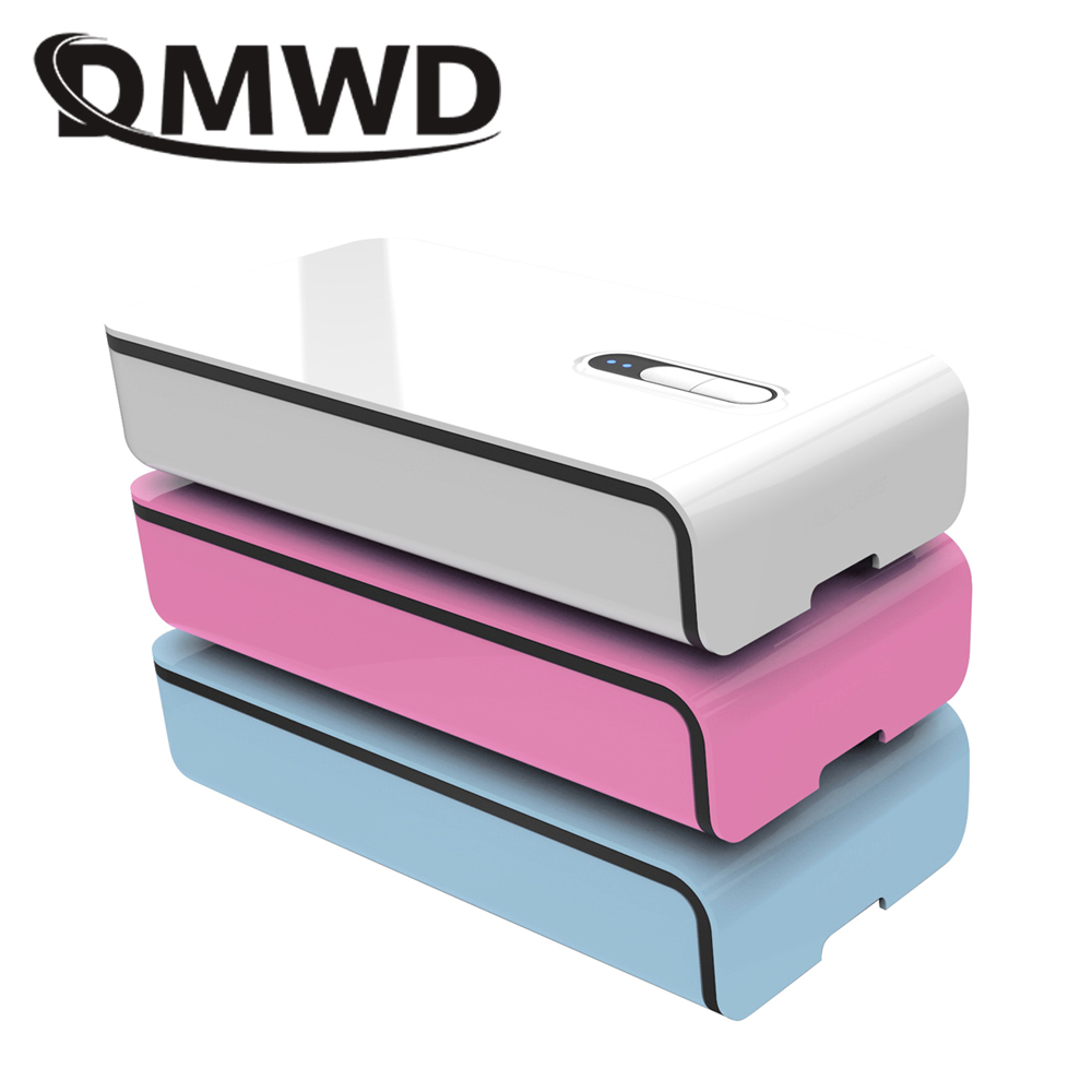 DMWD Underwear Cosmetics Phone MP3 Sterilizer Ultraviolet Sanitizer Disinfector USB Rechargeable Aroma Disinfection Incense Box