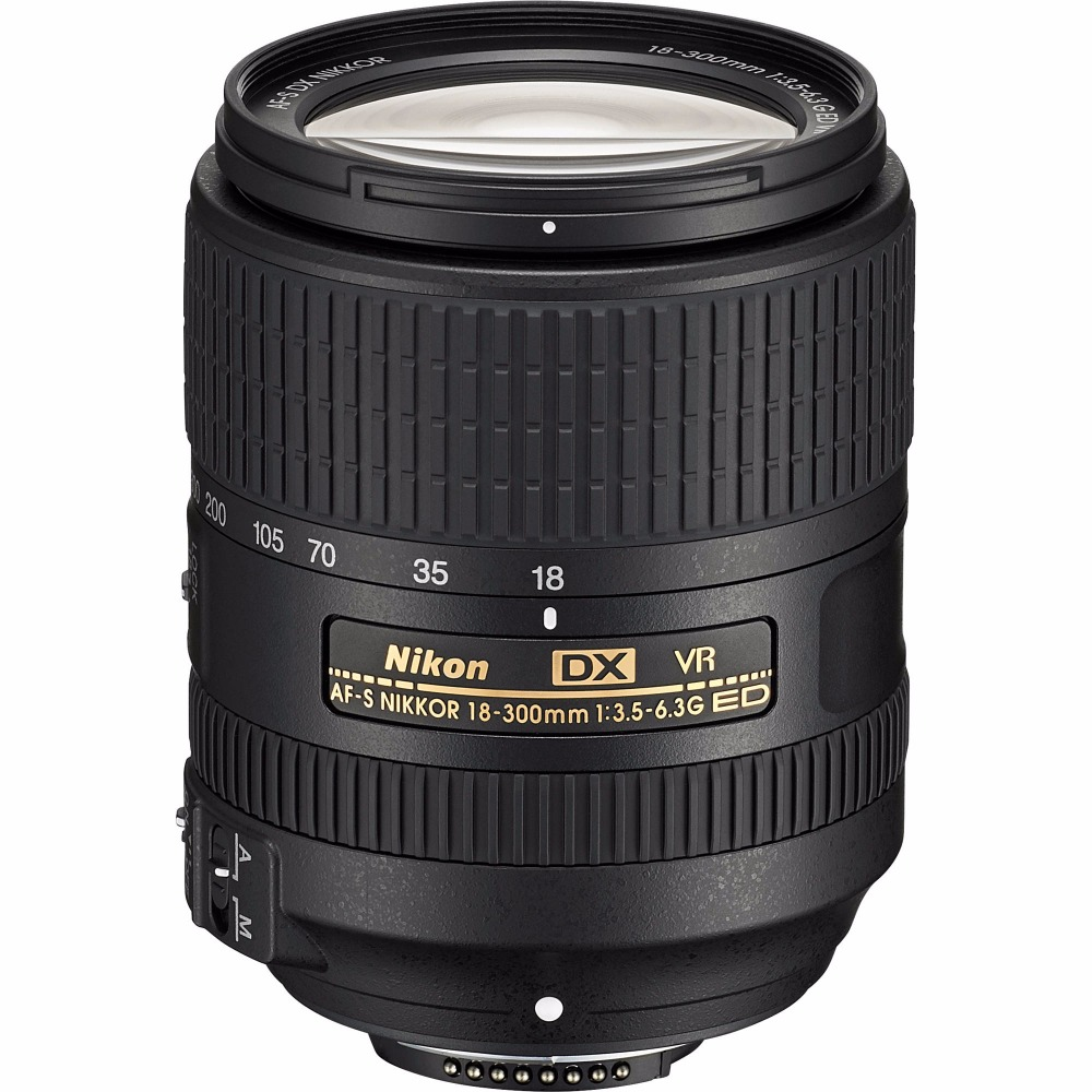 New Nikon AF-S DX Nikkor 18-300mm f/3.5-6.3G ED VR Lens new nikon d5500 digital slr camera body with nikon af s dx 18 55mm f 3 5 5 6g vr ii lens