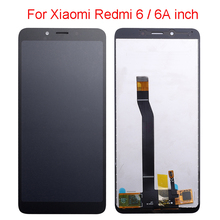 5.45 High Quality IPS LCD For Xiaomi Redmi 6 6A Display Touch Screen Digitizer Assembly Replacement inch Test AAA+