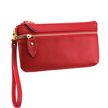 New Arrivel Fashion Women Wallets Zipper Clutch Coin Purse Ladies Wristlet Cell phone Card Holder Wallet Purse Bag