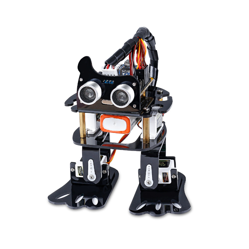 SunFounder DIY 4 DOF Robot Kit  Sloth Learning Kit for Arduino Nano  DIY Robot-in Integrated Circuits from Electronic Components & Supplies