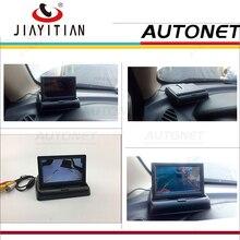 JIAYITIAN резервного копирования Камера сложенный экран Дисплей/Складная автомобиль HD TFT ЖК-дисплей монитор цветной экран для обратного сзади Камера DIY