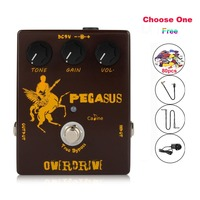 NEW Caline CP 43 Pegasus Overdrive Guitar Effect Pedal With True Bypass Guitar Accessories Aluminum Alloy