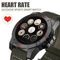 N10b bluetooth 4.0 smart watch relojes deportivos con altímetro barómetro brújula termómetro ip67 monitor de ritmo cardíaco reloj
