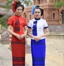 Новая традиционная одежда dai Тайланд Юго Восточная Азия тайское