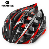 RockBros Red Helmet Unisex Road Bike MTB Cycling Helmet 57cm 62cm New