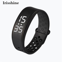 Irisshine C6 brand luxury Unisex watch W6 Sports Health Pedometer Smart Wearable Wristband Wristband Watch Bracelet Wholesale