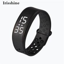 Irisshine C6 brand luxury Unisex watch W6 Sports Health Pedometer Smart Wearable Wristband Wristband Watch Bracelet