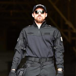 Image 3 - Mege Tactical Military Equipment Combat Shirt Camouflage Multicam Black Men Women Tactical Shirt Airsoft CS Go Clothing Typhon