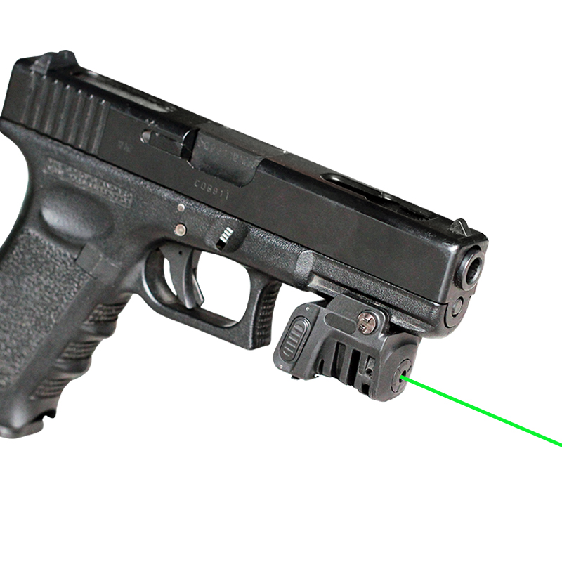 US $38 99 48% OFF|Drop shipping LS L8 series FRN PA66 military rechargeable  pistol walther p22 green laser sight-in Lasers from Sports & Entertainment