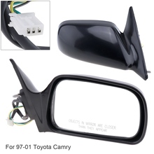 Non-Folding Durable Right Side Mirror Hand RH for 97-01 Toyota Camry CE / LE XLE Sedan 4-Door
