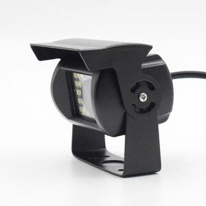 Image 4 - XCGaoon ユニバーサル車のリアビューカメラ 170 度防水 24 LED 夜ビジョン入力 DC 12 ボルト 24 ボルト、と互換性バス & トラック