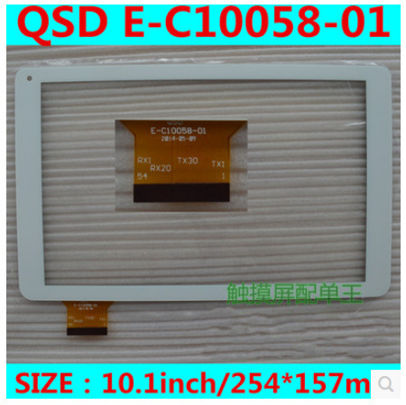 New 10.1 inch window m10 tablet capacitive touch screen QSD E-C10058-01 free shipping