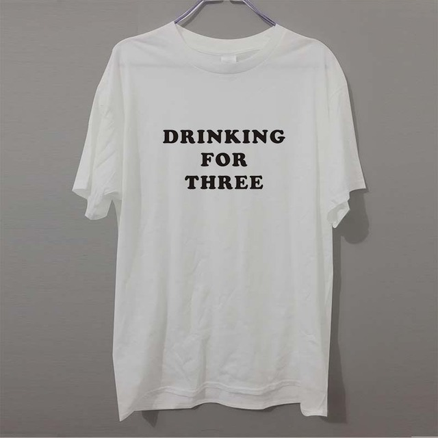 Drinking For Three Shirt Funny T Shirt Mens Baby Shower Gift Ideas