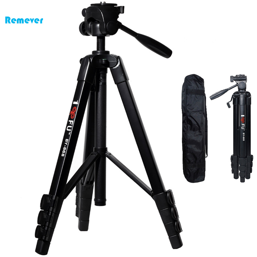 New Arrival Professional Tripod  Video Camcorder Tripod with Ball Head Gimbal Camera Stand mount for Nikon/Canon/DSLR/SLR diat a193l aluminum heavy duty fluid head camera tripod for camcorder dslr stand professional video tripod