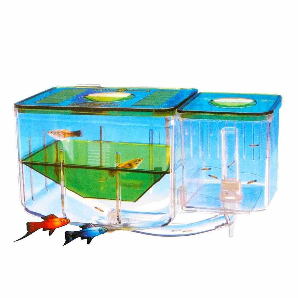 Saim Mini Akuarium Plastik Ikan Mangkuk Ikan Cupang Aksesoris Tank Untuk Aquarium Penyu Tank Dekorasi Aquario Pembiakan Kotak Aliexpress
