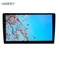 Harfey 1Din Универсальный gps Авто Радио Стерео 1Din Android 8,0/8,1 10 дюймов Автомобильный Радио сенсорный экран головное устройство HD 1080 P Мультимедийный