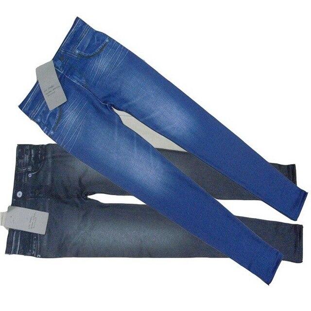 Denim-Look with Pocket Leggings