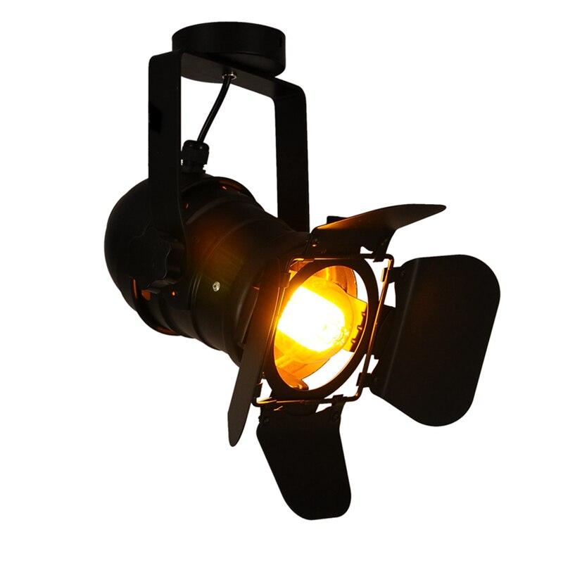 Industrial Led Light Bar: Loft Vintage Retro Industrial Led Spotlight Kung Lamp Bar