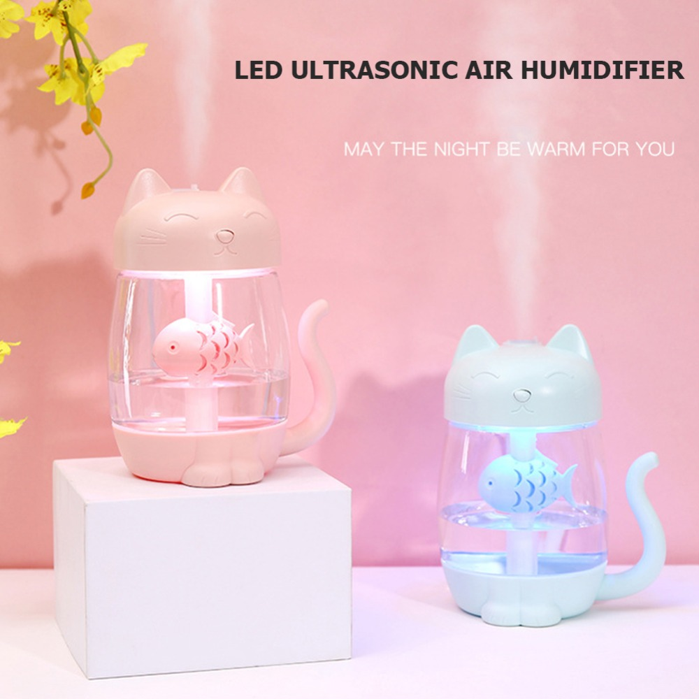 Lights & Lighting Clever Mini Ultrasonic Mist Humidifier Usb Air Humidifier Ice Cream Shape Led Soft Light For Home Office Yoga Spa Refreshment Solar Lamps