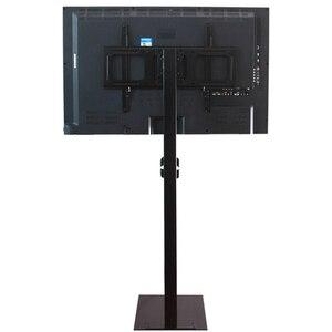 Image 4 - 32 70 مؤشر LED LCD بالبوصة البلازما شاشة عرض تلفزيون جبل الطابق حامل إمالة قطب AD عرض إدارة الأسلاك ارتفاع قابل للتعديل