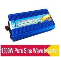 1500w inverter pure sine wave Peak power 3000W inverter DC12V to AC110V 60HZ home inverter