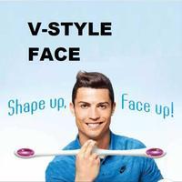 1set Useful PAO Facial Sticker Toy 25cm Japan POE Face Lift Instrument Facial Newton S Cradle