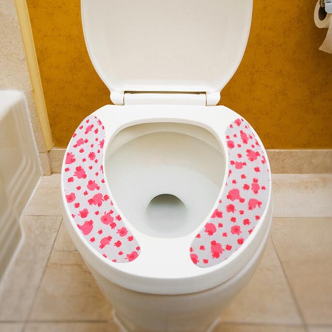 2016 New Magic Self Adhesive Bathroom Toilet Washable Closestool Seat