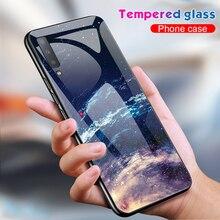 Роскошный защитный чехол из закаленного стекла для samsung Galaxy S10 Plus S10e S9 S8 Note 8 9 10 Plus A7 A70