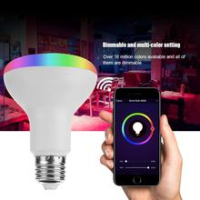 7W RGBW Smart WIFI Bulb RGB LED Lamp Bulb E27/ B22 LED Bulb Color Light for Smart Home Support free shipping smart board interactive whiteboard system smart unifi 55 unifi 55w uf55 uf55w projector lamp