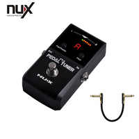 PT 6 NUX Pedal Tuner LED Display and Chromatic Tuning Mode Allows a Wide Range of Tuning Options Free Shipping