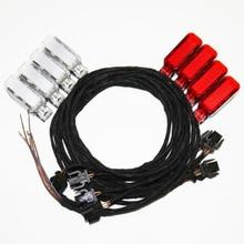 8 pièces D'origine OEM porte lampe d'avertissement de câble Pour A3 A4 A5 A6 A7 A8 Q3 Q5 TT 8KD947411 8KD 947 411 8KD947415 8KD 947 415