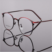 Reading Eyeglasses Optical Glasses Frames Glasses Women Male New Cat Eye Frame Ultra Light Frame Clear Glasses Round 5939
