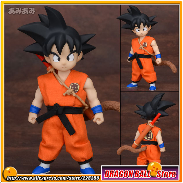 Japanese Anime Dragon Ball Original MegaHouse MH Dimension of DRAGONBALL / D.O.D Complete Figure - Son Goku in Youth japanese anime one piece original megahouse mh variable action heroes complete action figure dracule mihawk