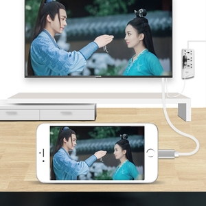 Image 3 - Adapter for Apple to HDMI HD Cable 1080P HD for iPad on for iPhone 5 5S 6 6s 7 Plus Phone Connected to TV Support IOS11 system