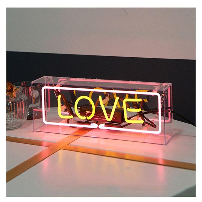 Accueil signe emblématique enseigne au néon lampe à Tube en verre véritable fabriqué à la main conception personnalisée néon ampoule Bar à bière Pub maison KTV lumières éclairage de rêve