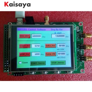 Image 3 - new ADF5355 module touch color screen lcd sweep RF signal source VCO microwave frequency synthesizer PLL free shipping G3 001