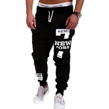 Mens Joggers 2017 Brand Male Trousers Men Pants Casual Pants Sweatpants Jogger Black XXXL