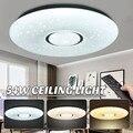 AC180-240V 54 Вт светодиодный потолочный светильник 2835SMD 36 Светодиодный лампочки Starlight Stars Sky 3-color Dimmable с пультом дистанционного управления для дом...