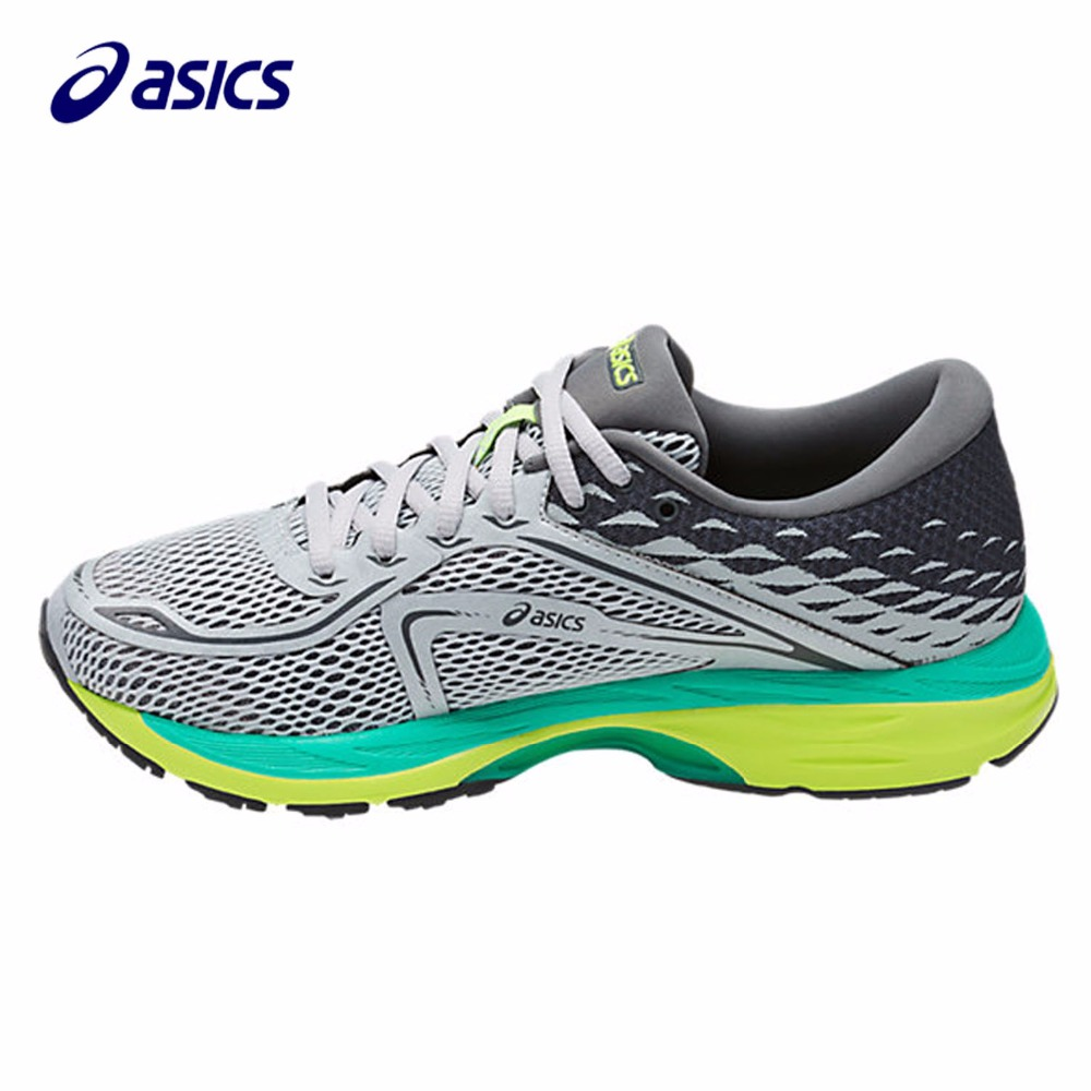 Orginal ASICS New Women Running Shoes  Breathable Stable Shoes Outdoor Tennis Shoes Classic Leisure Non-slip T7B8N-9697