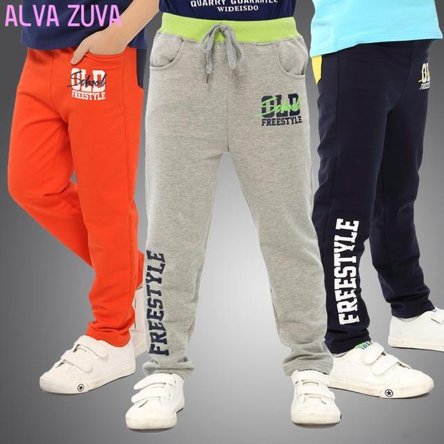 2017 New Spring Korean Fashion Children Kids Sprots Pants Big Boys Casual Trouser For 6-14 T Clt015