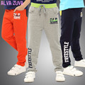 2017 Nueva Primavera de Corea Moda Niños Kids Sprots Pantalones Grandes Chicos Pantalón Casual Para 6-14 T Clt015