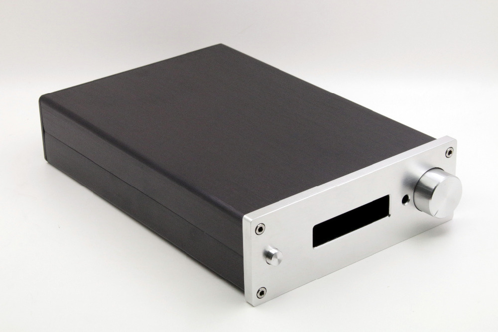 Free 1706 F6 Preamp Chassis Full Aluminum Amplifier Enclosure Mini AMP Case DAC Box