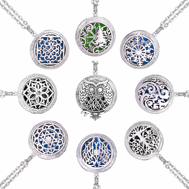 1pc 28 chain pads round antique vintage aromatherapy pendant star 1pc 28 chain pads round antique vintage aromatherapy pendant star necklace perfume essential oil diffuser aloadofball Gallery