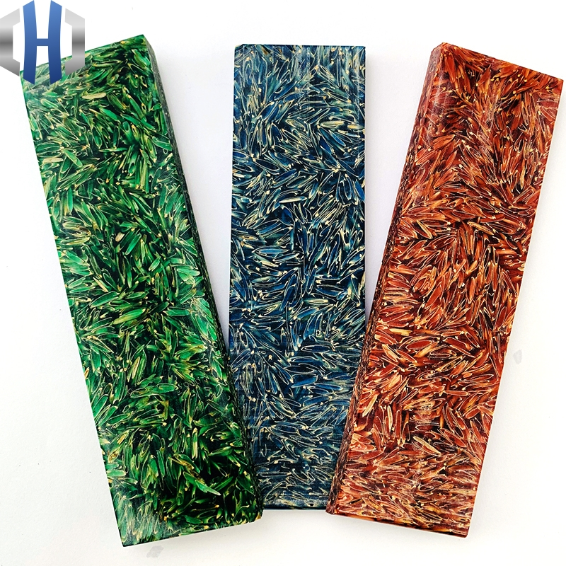 Resin Chaff Shank Composite Handle Material Knife Handle Slingshot Tool Handle DIY Electronic Material 137x40x8MM