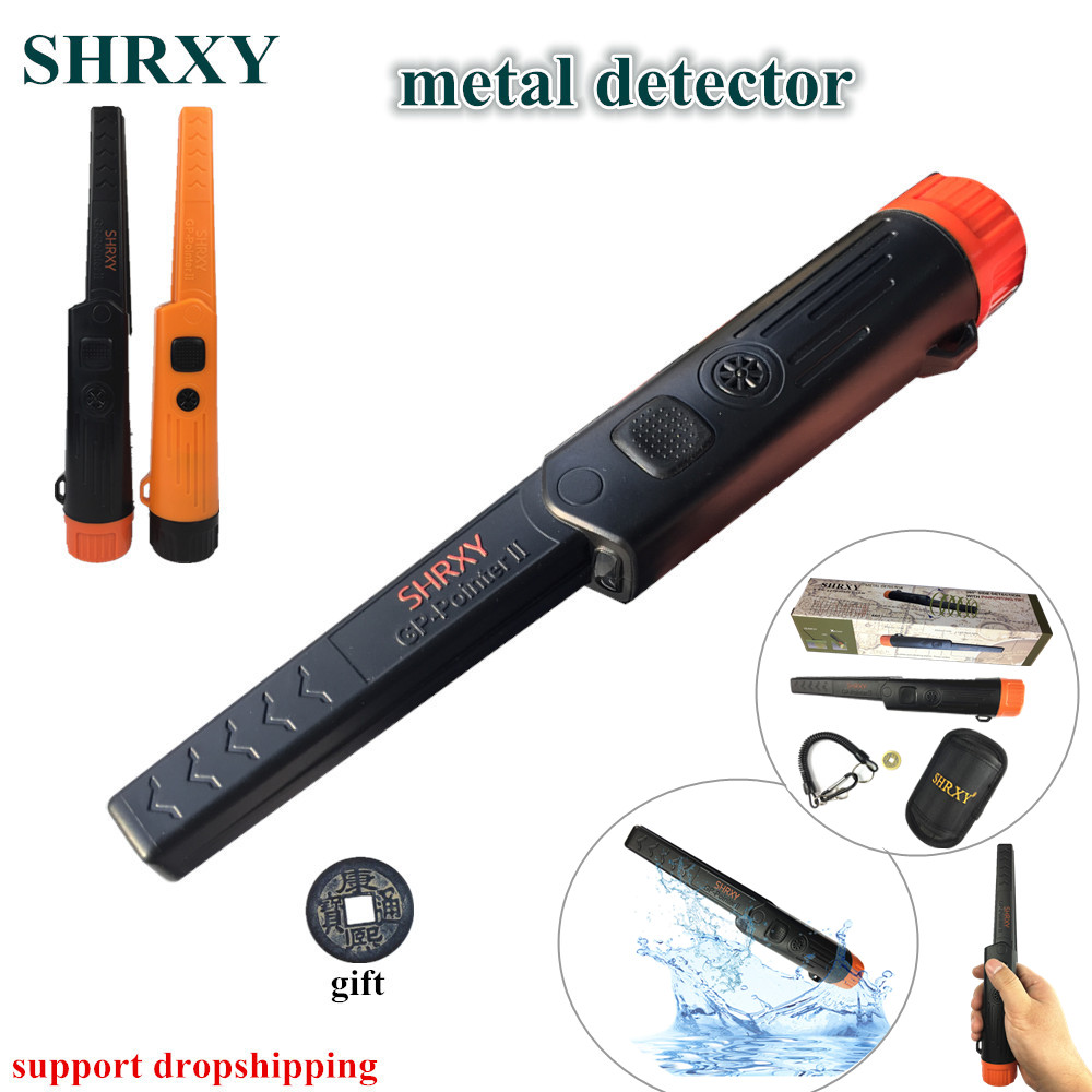 Hand Held Metal Detector Pointer TRX Pro Pinpoint GP-pointerII Waterproof Metal Detector ...