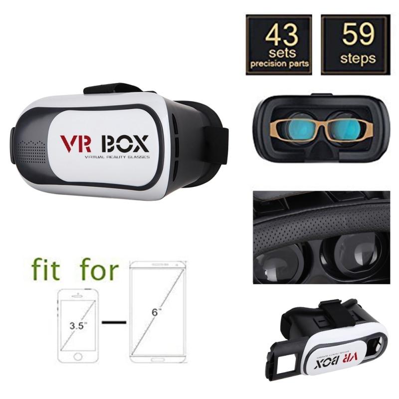 CAJA de Los Vidrios II 2.0 VR VR 3D de Realidad Virtual Gafas 3D casco google ca