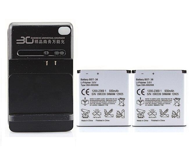 Batterie pour Sony Ericsson W580 W580i W760 Xperia X10 mini Pro 2x960 mah BST-38 Batterie d'occasion  Livré partout en France