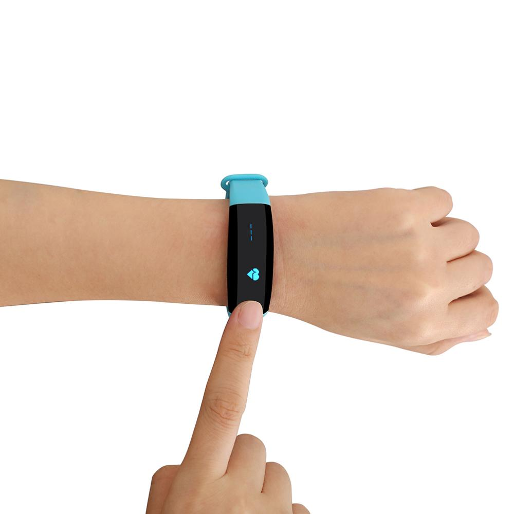 CUBOT V2 Multifunctional 0.88 Inch OLED Screen Smart Band Heart Rate Monitoring TPU Bracelet