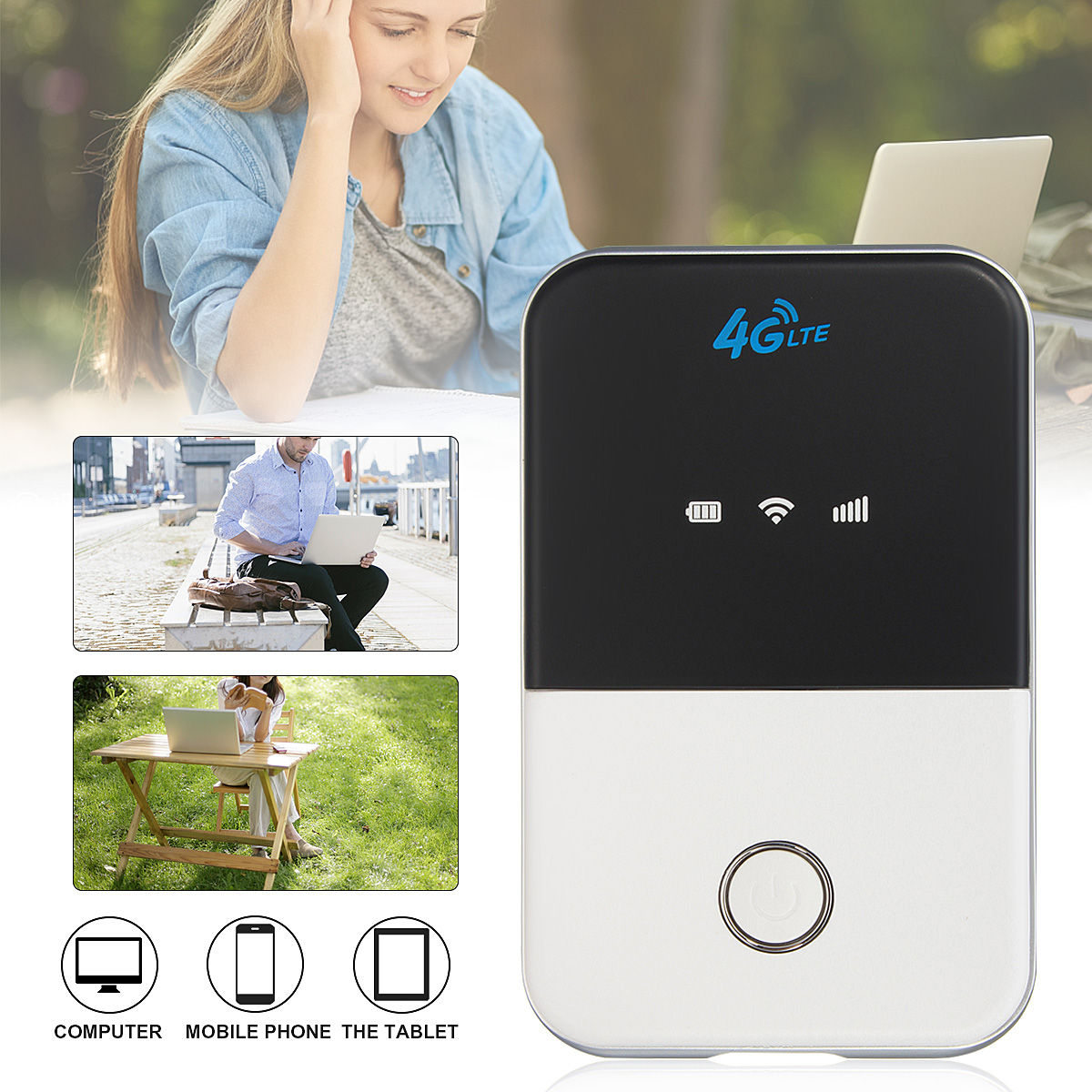 4G Wifi Router mini router 3G 4G Lte Wireless Portable Pocket wi fi Mobile Hotspot Car Wi-fi Router hame a5 3g wi fi ieee802 11b g n 150mbps router hotspot black